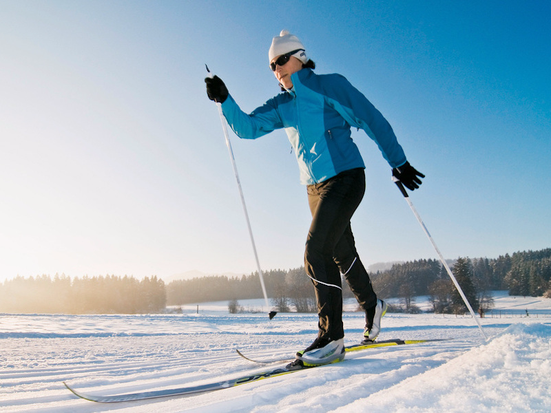Picture of Cross-country skiing