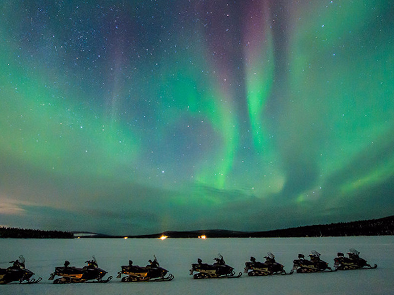 Picture of Northern Lights Safari on Snowmobile