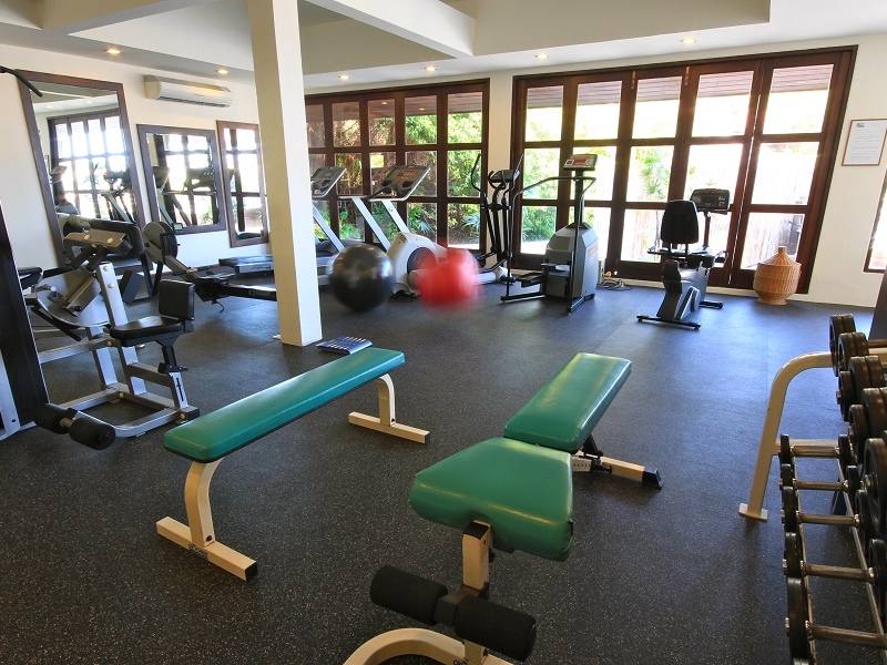 Picture of THE EXERCISE ROOM