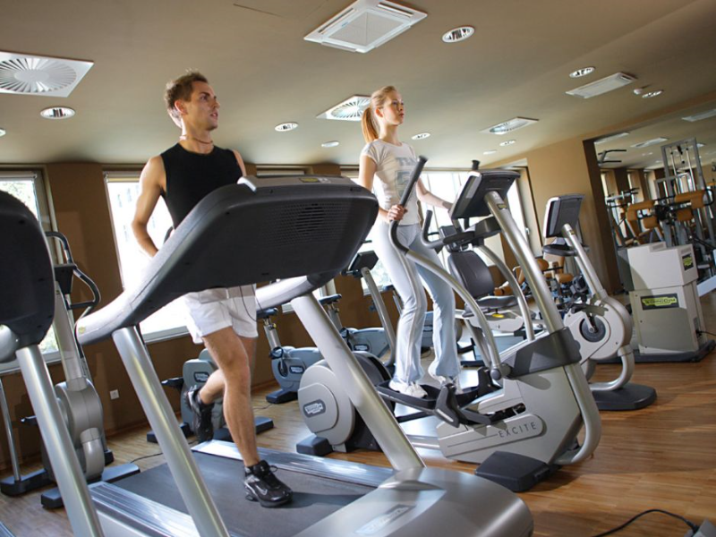 Picture of Exercise in the Fitness Centre