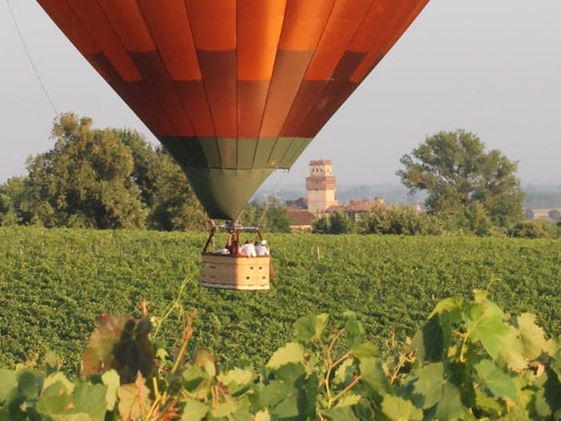 Picture of Tuscany From On High - Balloon Flight Experience near Siena