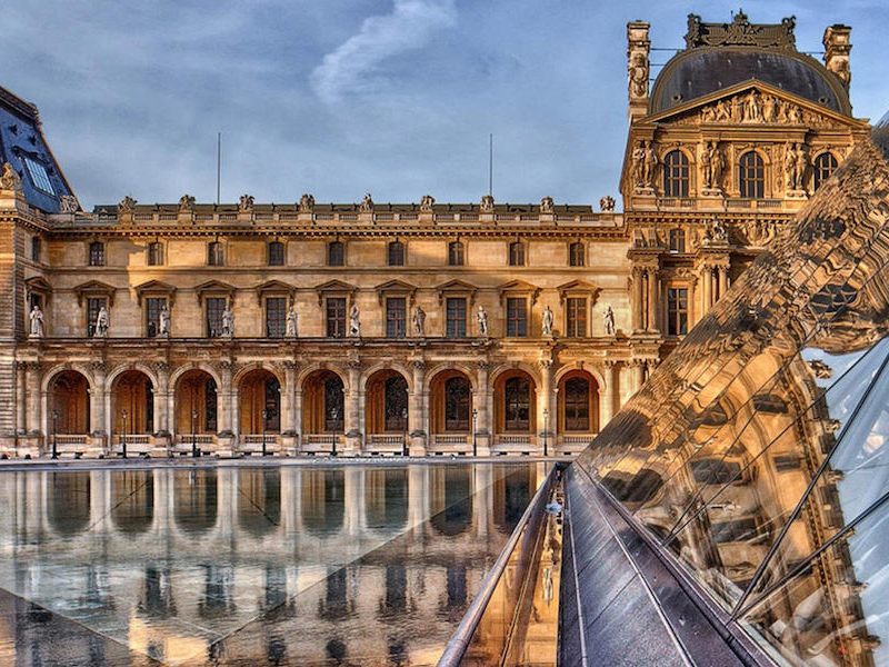 Picture of The Louvre Museum