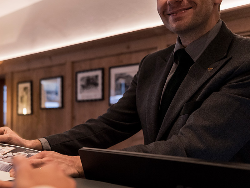 Picture of Concierge service at Hotel Rosa Alpina