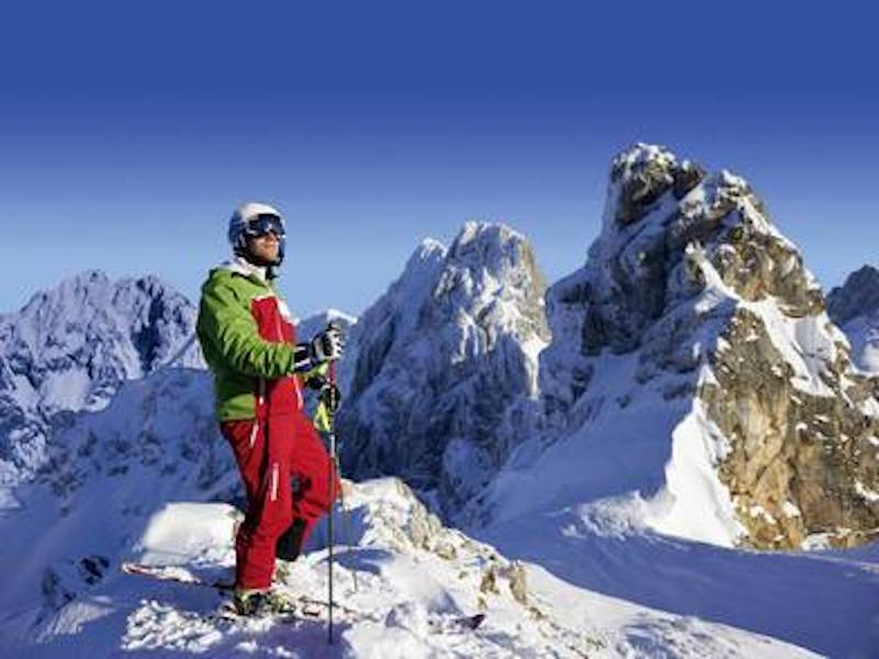 Picture of Wintersports in the Bavarian Alps