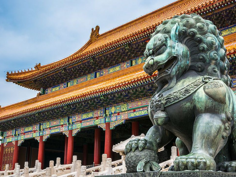 8 Days Beijing - Xian - Shanghai by train ( private 2 person )