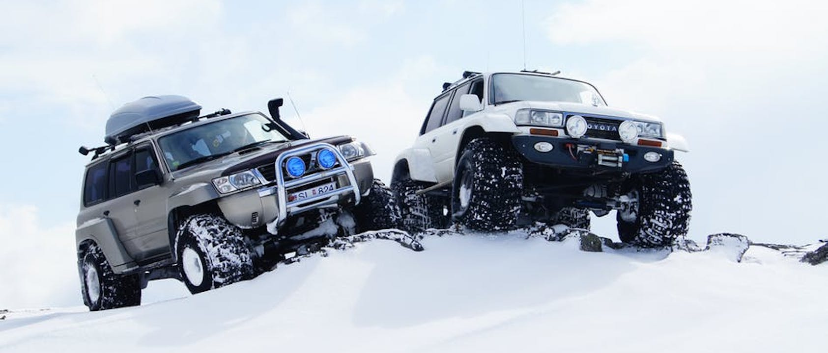 7 Day Self-Drive PREMIUM Iceland tour , 4 Wheel drive , zodiac , snow bike , helicopter and glacier ( 4 person )