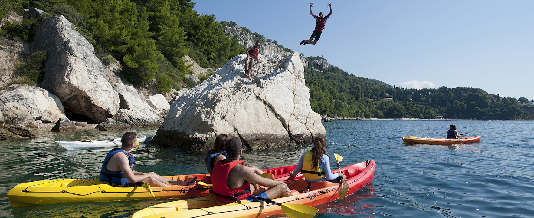 3 Days Dalmatia Weekend Adventure, Cycling, kayaking and rafting, best weekend gataway. SEPTEMBER Low Season