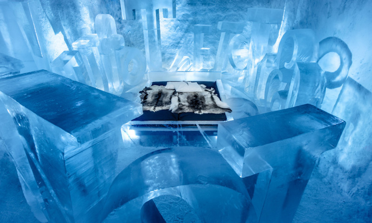 ICEHOTEL - Amazing hotel built from ice