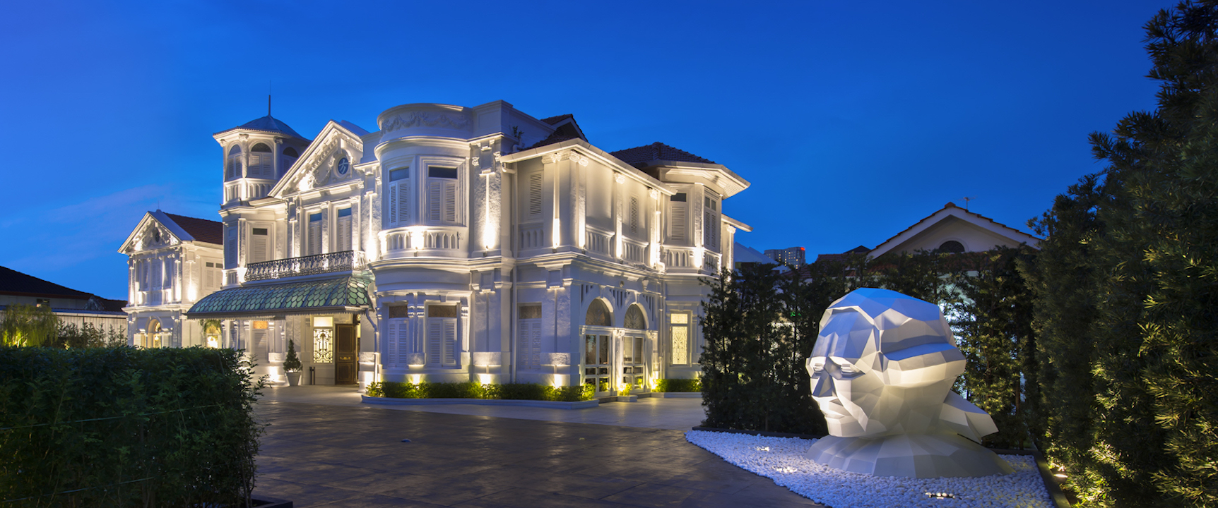 Macalister Mansion ***** Art & Design boutique hotel , Penang / Malaysia
