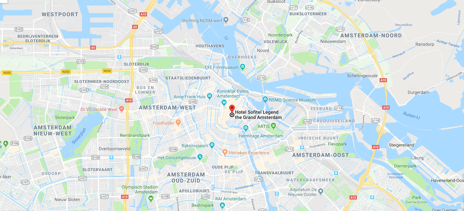 Sofitel Legend Hote The Grand  *****s , Amsterdam / Netherlands