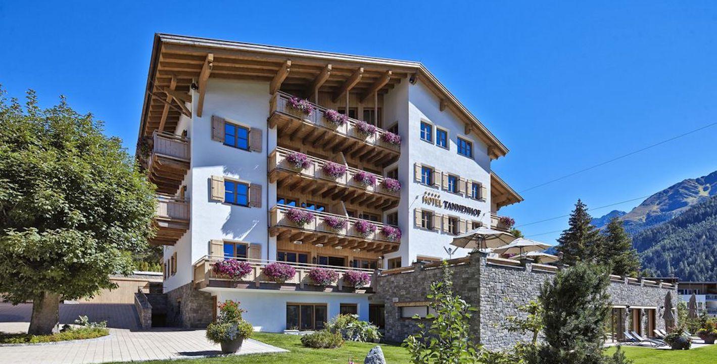 Hotel Tannerhof , St Anton am Arlberg in Tirol / Austria