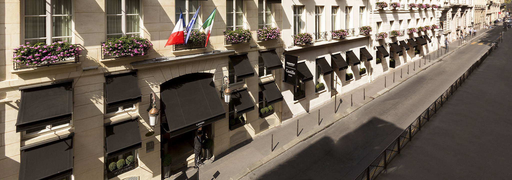 Castille Luxury hotel , Michelin starred - Paris / France