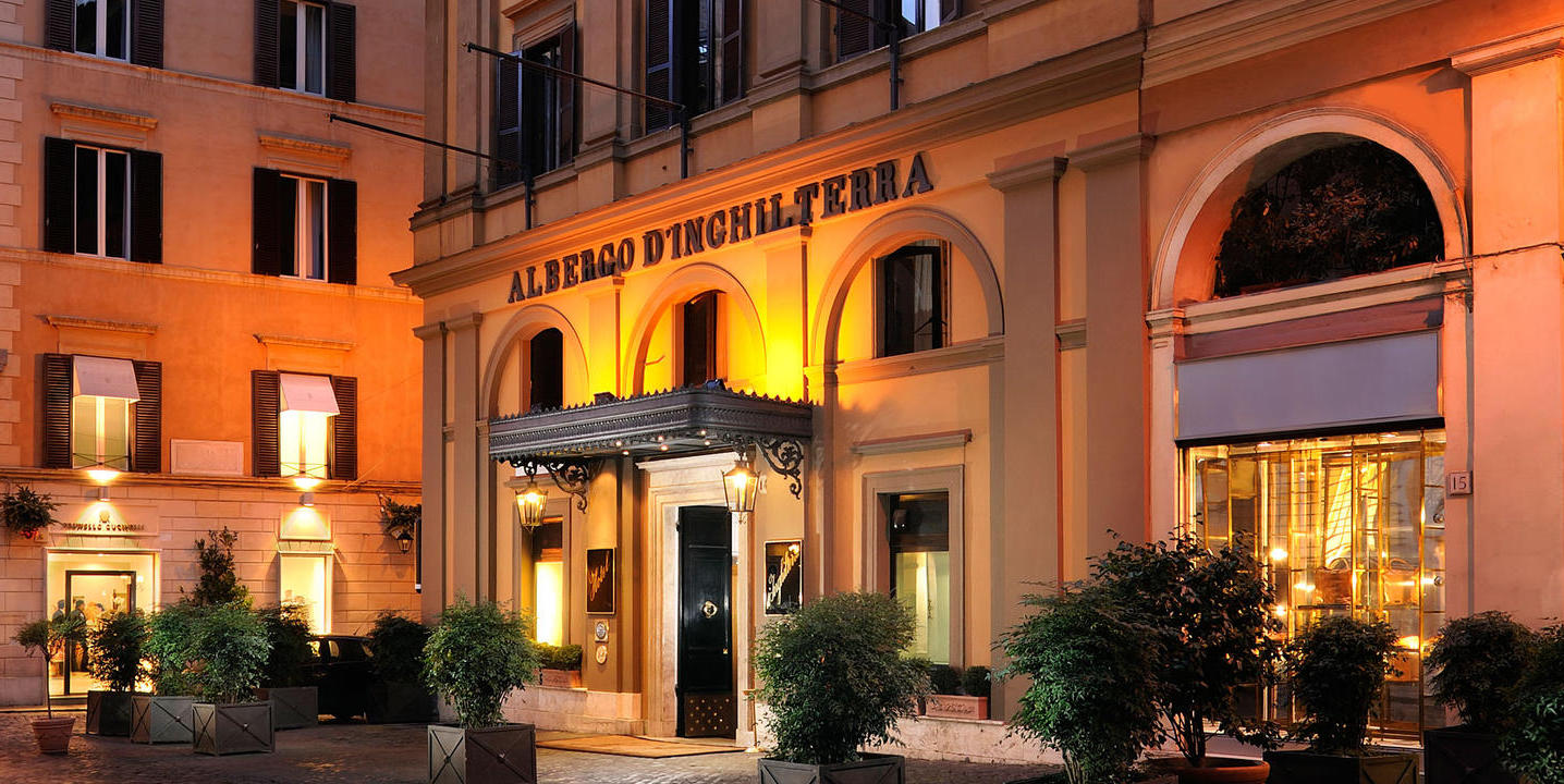 Hotel d'Inghilterra luxury boutique , Rome / Italy