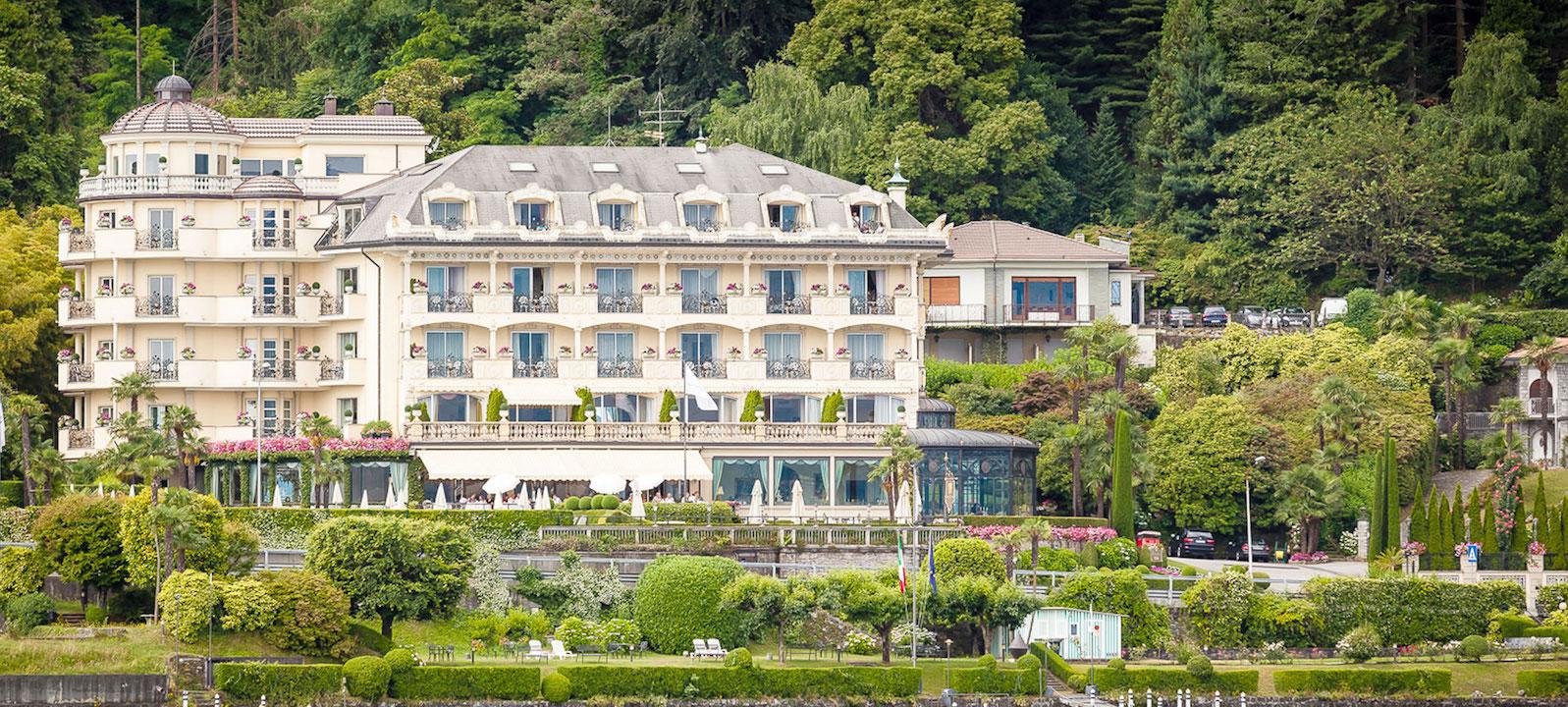 Villa and Palazzo Aminta , Lake Maggiore / Italy