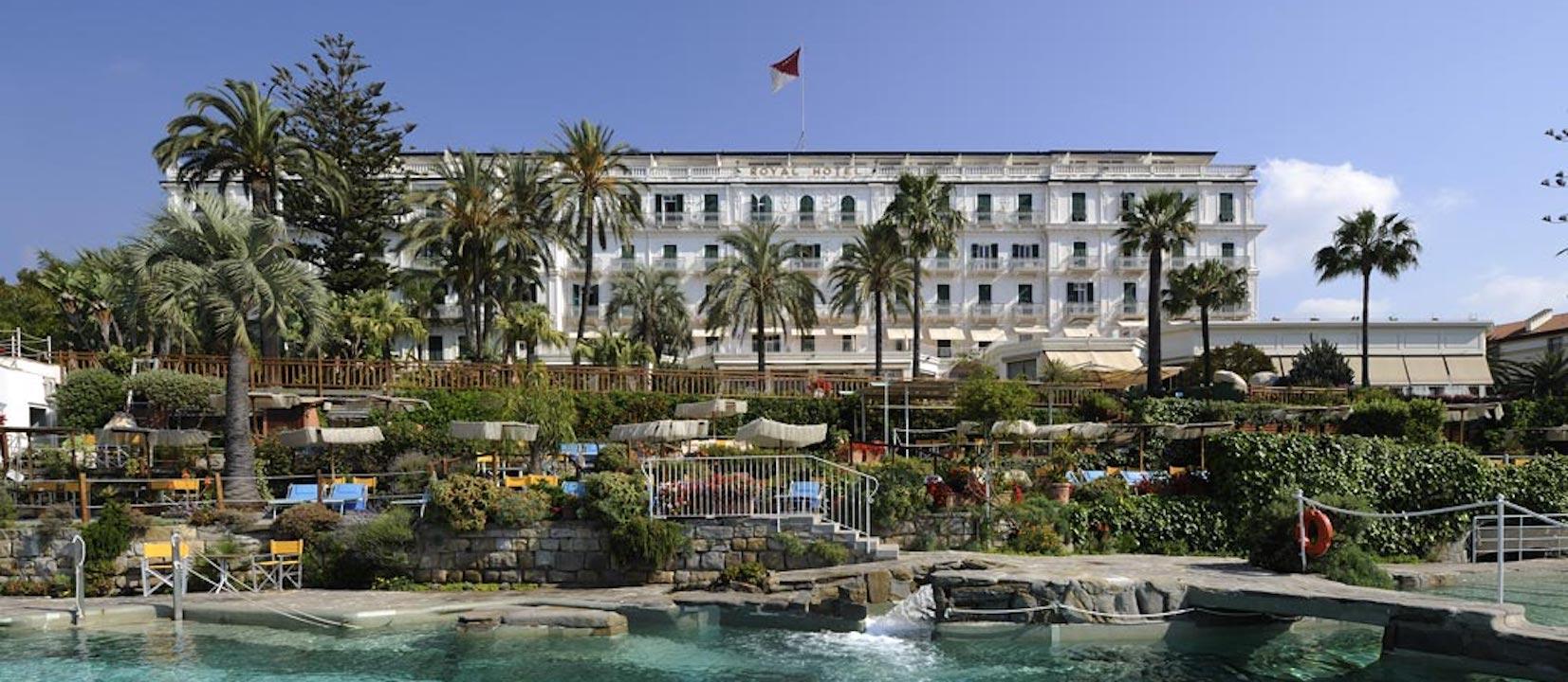 Royal Hotel , Sanremo / North Italy