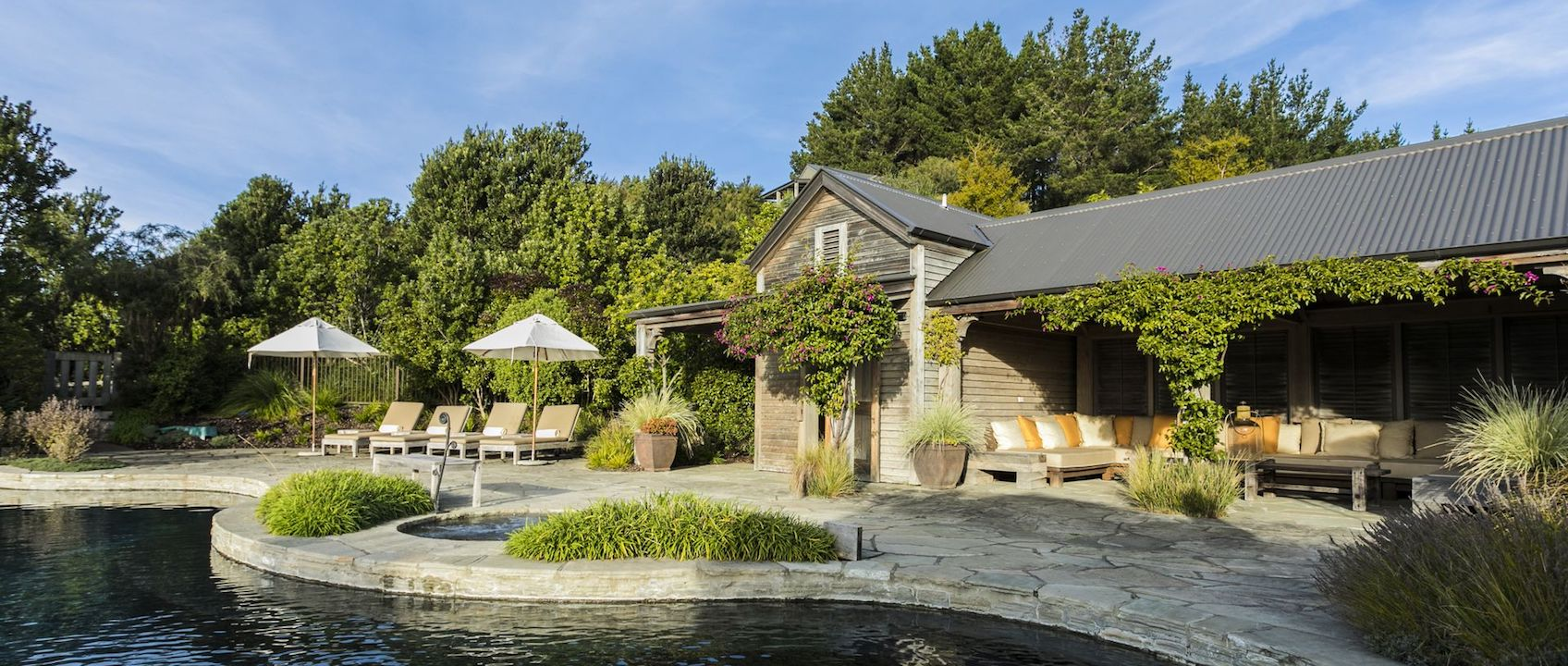 Robertson luxurious Lodges Cape Kidnappers , Hawke's Bay / New Zealand