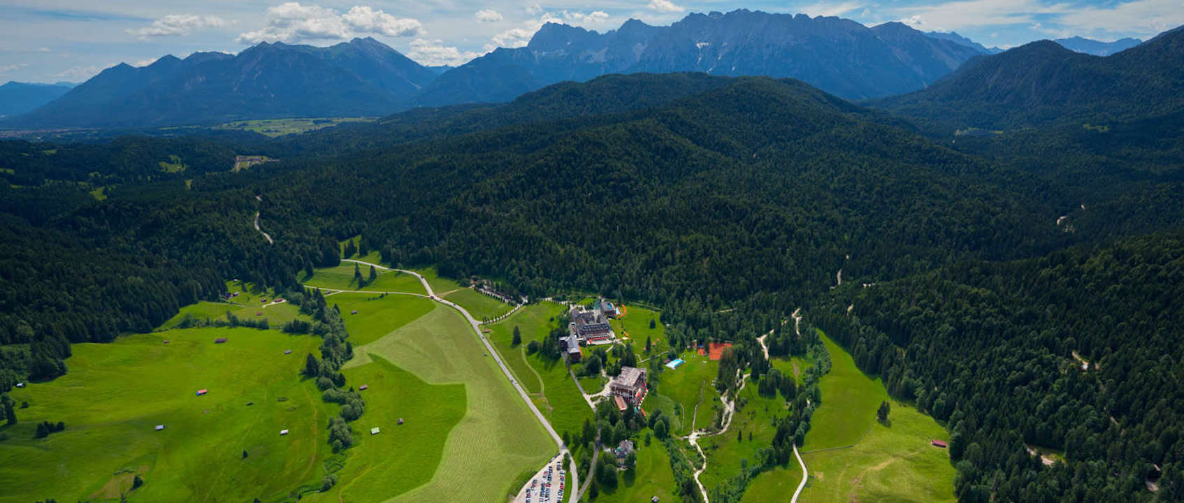 Schloss Elmau , Luxury spa retreat & cultural hideaway  , Michelin starred / Elmau - Germany