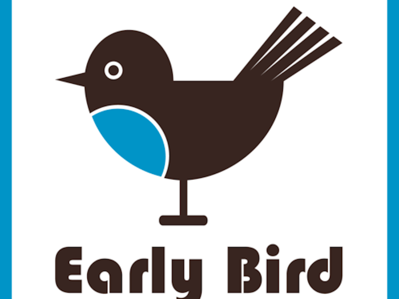 Picture of Early Bird promotion