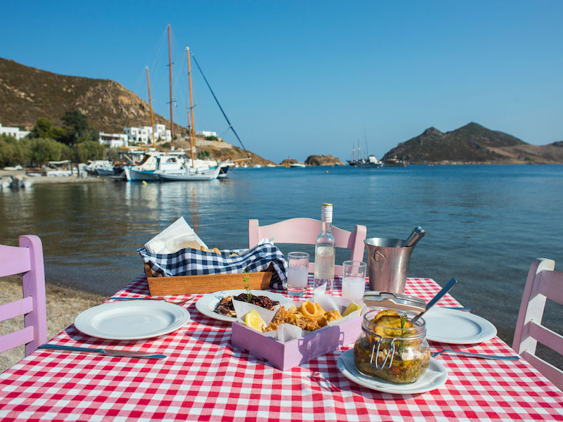 Picture of  Plefsis Traditional Tavern Greek delicacies by the sea