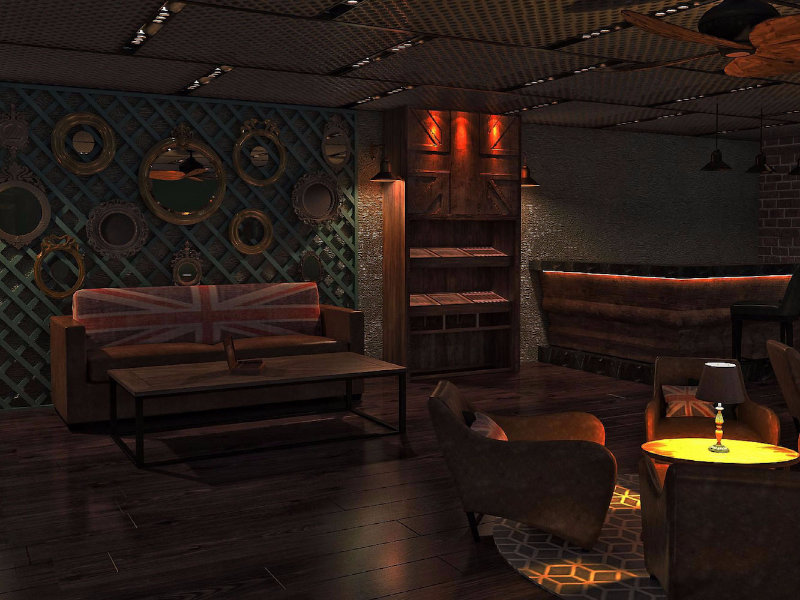 Picture of THE CIGAR AND WHISKY LOUNGE