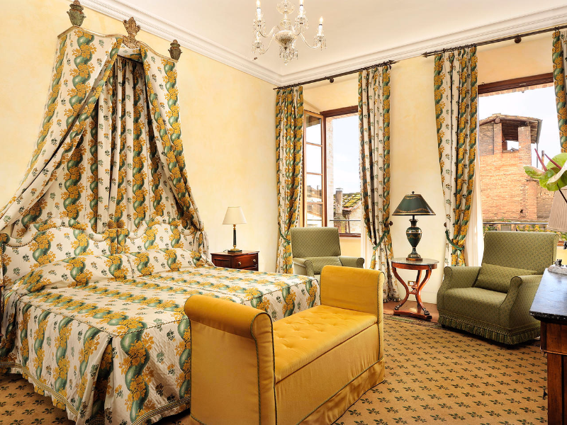 Picture of room Junior Suite Executive | Grand Hotel Continental