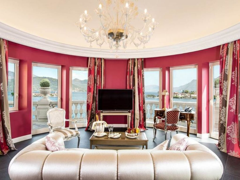 Picture of room La Borromea suite lake view